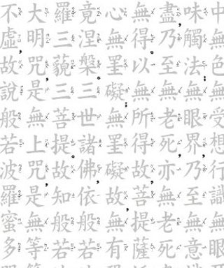 Heart Sutra Scripture Copying and Tracing Workbook in Kai Li Xing ...