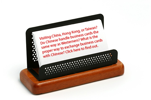 Visiting China, Hong Kong, or Taiwan? Do Chinese handle business cards ...
